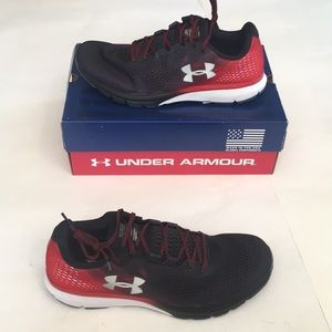 New Mens Under Armour Charged Patriot Shoes